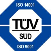 logo certificazione uni en iso 14001 e uni en iso 9001